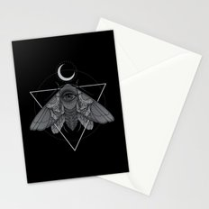 Occult Moth Stationery Cards