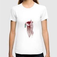 vampire T-shirts featuring Vampire by Kimball Gray