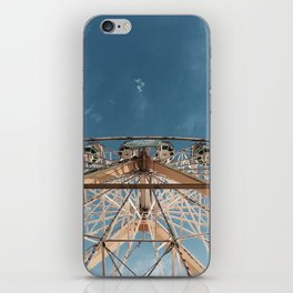 Love above the clouds iPhone Skin
