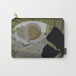 Feathered Palms Carry-All Pouch