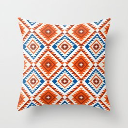 Navajo Five Throw Pillow