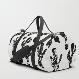 Dancing Cactus Pattern Duffle Bag