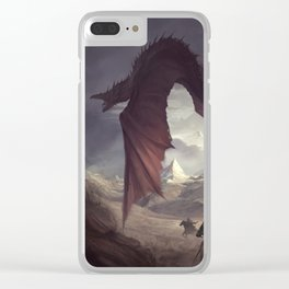 Dragon Chaser Clear iPhone Case