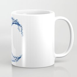 Crescent Flower Moon Coffee Mug