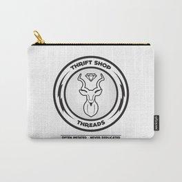 Thrift Shop Threads Button_Kudu Carry-All Pouch