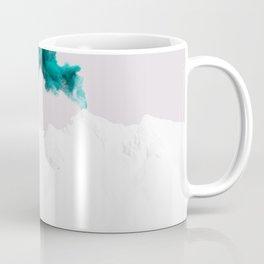 Snowy Mountain Smoke Signal Coffee Mug