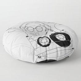Til Death Do Us Party Floor Pillow