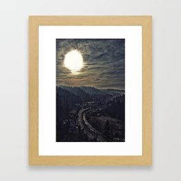 From Dracula's Castle Framed Art Print