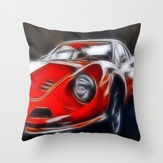 the legendary DINO GT Throw Pillow