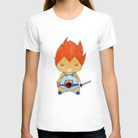 thundercats T-shirts featuring A Boy - Lion-O (Thundercats) by Christophe Chiozzi