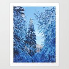 goodbuy winter  Art Print