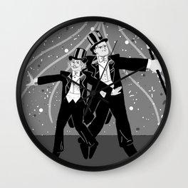 Puttin' on the Ritz Wall Clock