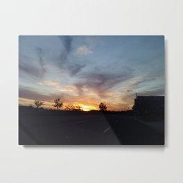 Sun Kissed Goodnight Metal Print