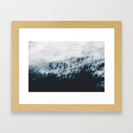 Abstract #fog Framed Art Print