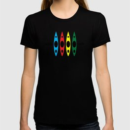 Four Kayaks | DopeyArt T-shirt