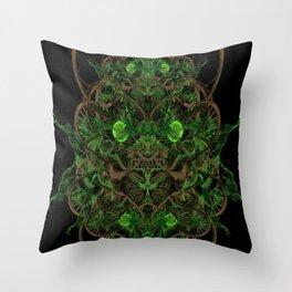 Herban Remedies Throw Pillow