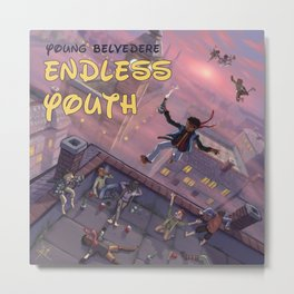 Endless Youth - Young Belvedere Metal Print