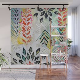 """Holocene"" Original Painting by Flora Bowley Wall Mural"