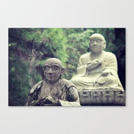2 Statues  Canvas Print