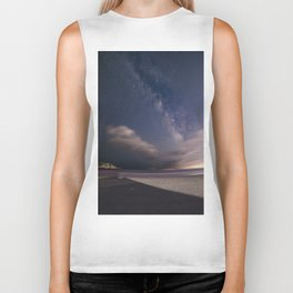 Milkyway at Good Harbor Beach Biker Tank