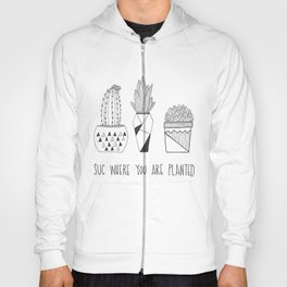 suc where you are planted Hoody