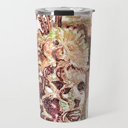 Floral Interaction Travel Mug