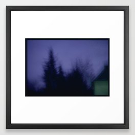 Breeze still carries the sound Maybe I'll disappear Framed Art Print