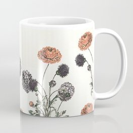 Watercolour of Ranunculus Coffee Mug