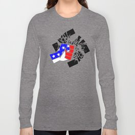 Obliterate Hate USA Long Sleeve T-shirt