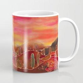 Sunset in Toskana Coffee Mug