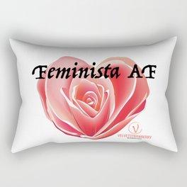 Feminista AF Rectangular Pillow