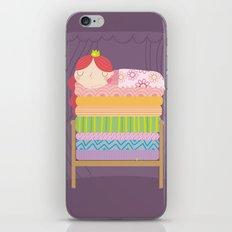 Princess and the pea iPhone & iPod Skin