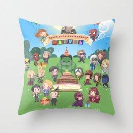 M A R V E L B-Day Throw Pillow