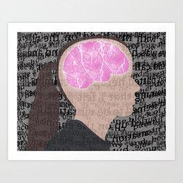 Seizure Art Print