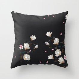 MAGNOLIA BRANCH Throw Pillow