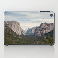 yosemite iPad Cases featuring Yosemite Valley by Laura Ruth
