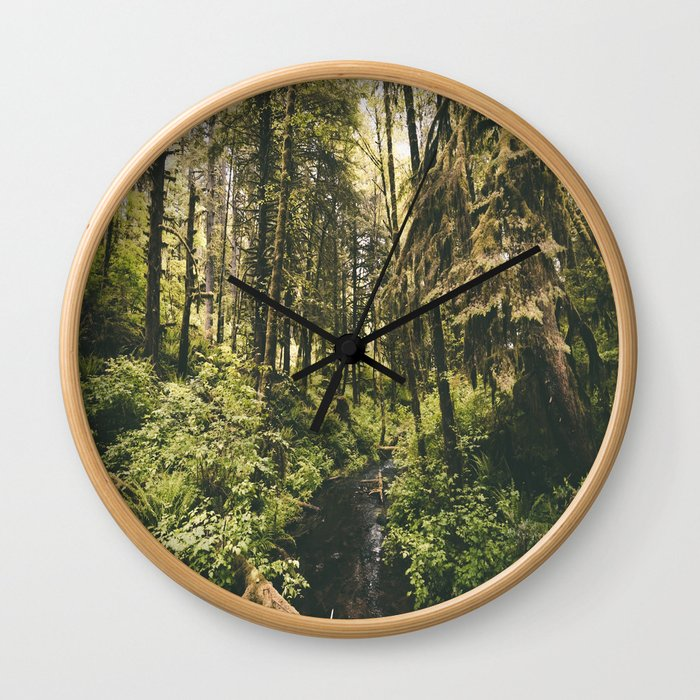 Forest XIV Wall Clock