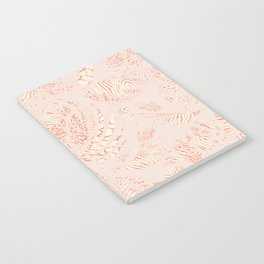 Pink Sand Summer Breeze Notebook
