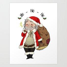 Yo-Ho-Ho Art Print