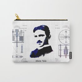patent Tesla Electric Arc Lamp Carry-All Pouch