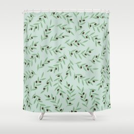 I left my heart in the Aegean Shower Curtain