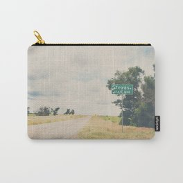 Texas state line ... Carry-All Pouch