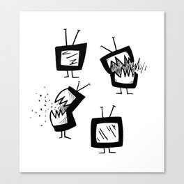 Weapons of Mass Distraction Canvas Print