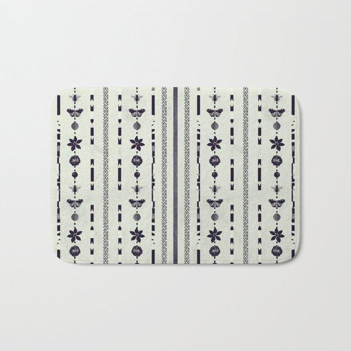 DG Floral Pattern 1 Bath Mat