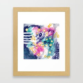 Laughter In the Air Framed Art Print