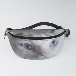 Ragdoll Cat Blue Eyes Fanny Pack