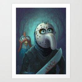 Muppet Maniac - Gonzo Voorhees Art Print