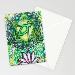 Heart Chakra Stationery Cards