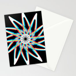 Edelweiss - Black Stationery Cards