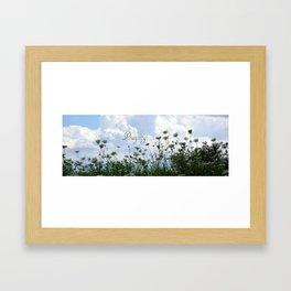 Flower Ridge Framed Art Print